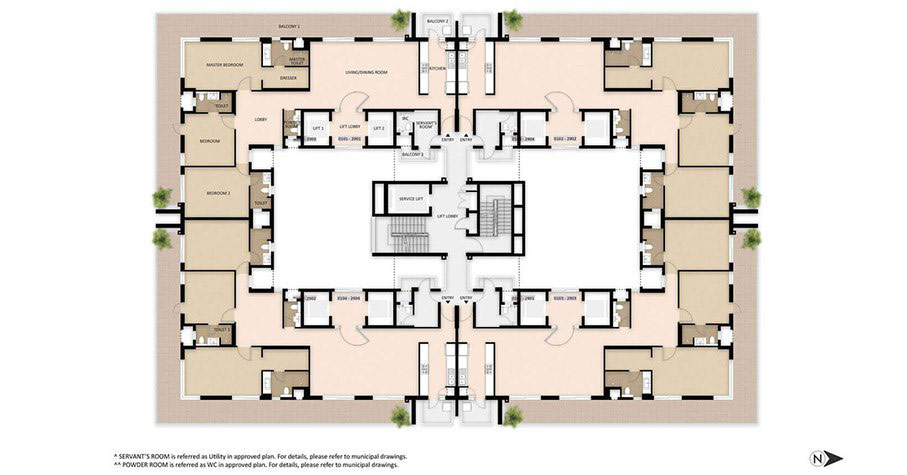tower-a-typical-floor-plan