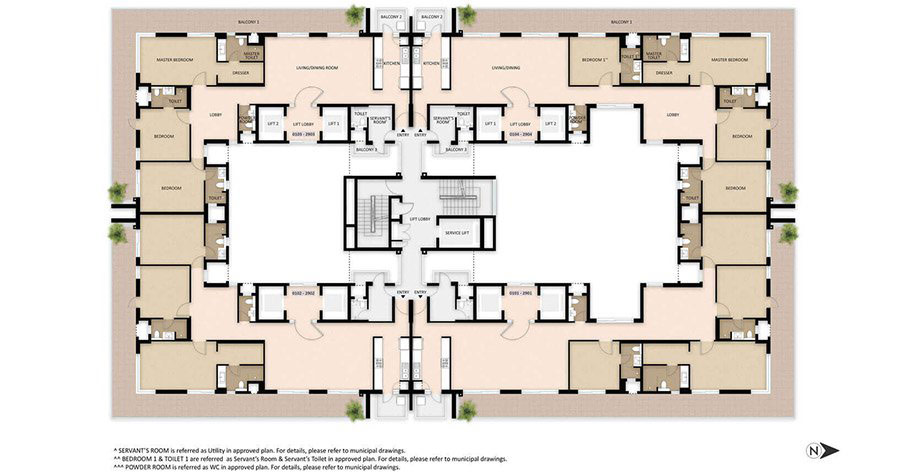 tower-c-typical-floor-plan